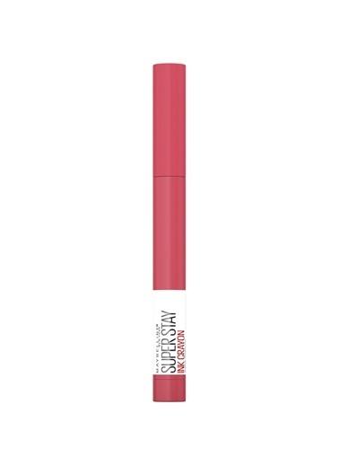Maybelline New York Super Stay Ink Crayon Kalem Mat Ruj - 85 Change is Good Pembe